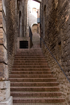 Stairs in Assisi